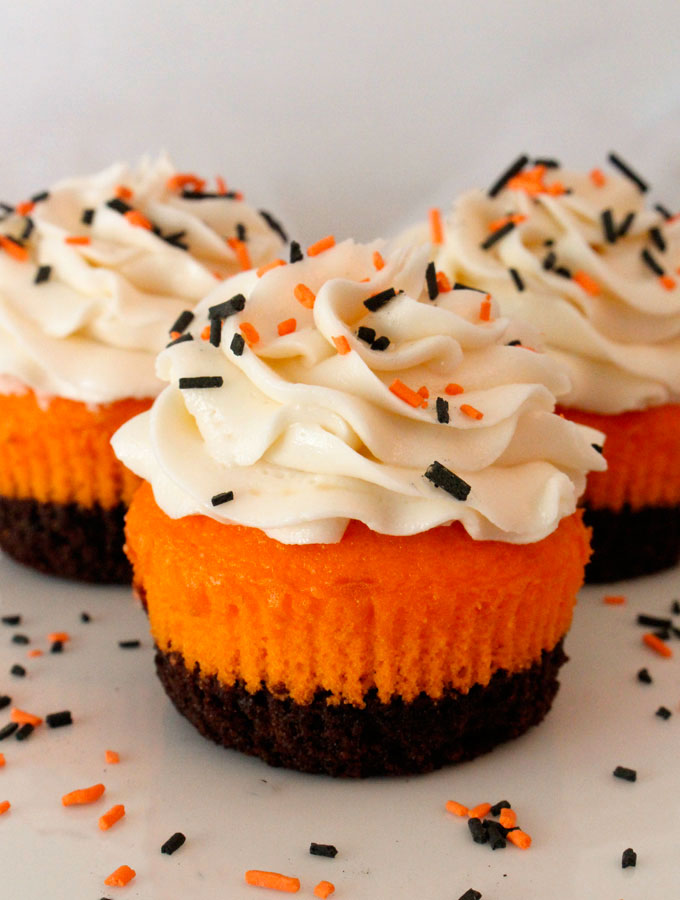 Halloween Brownie Cupcakes