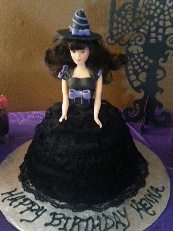 Halloween Witches Birthday Cake