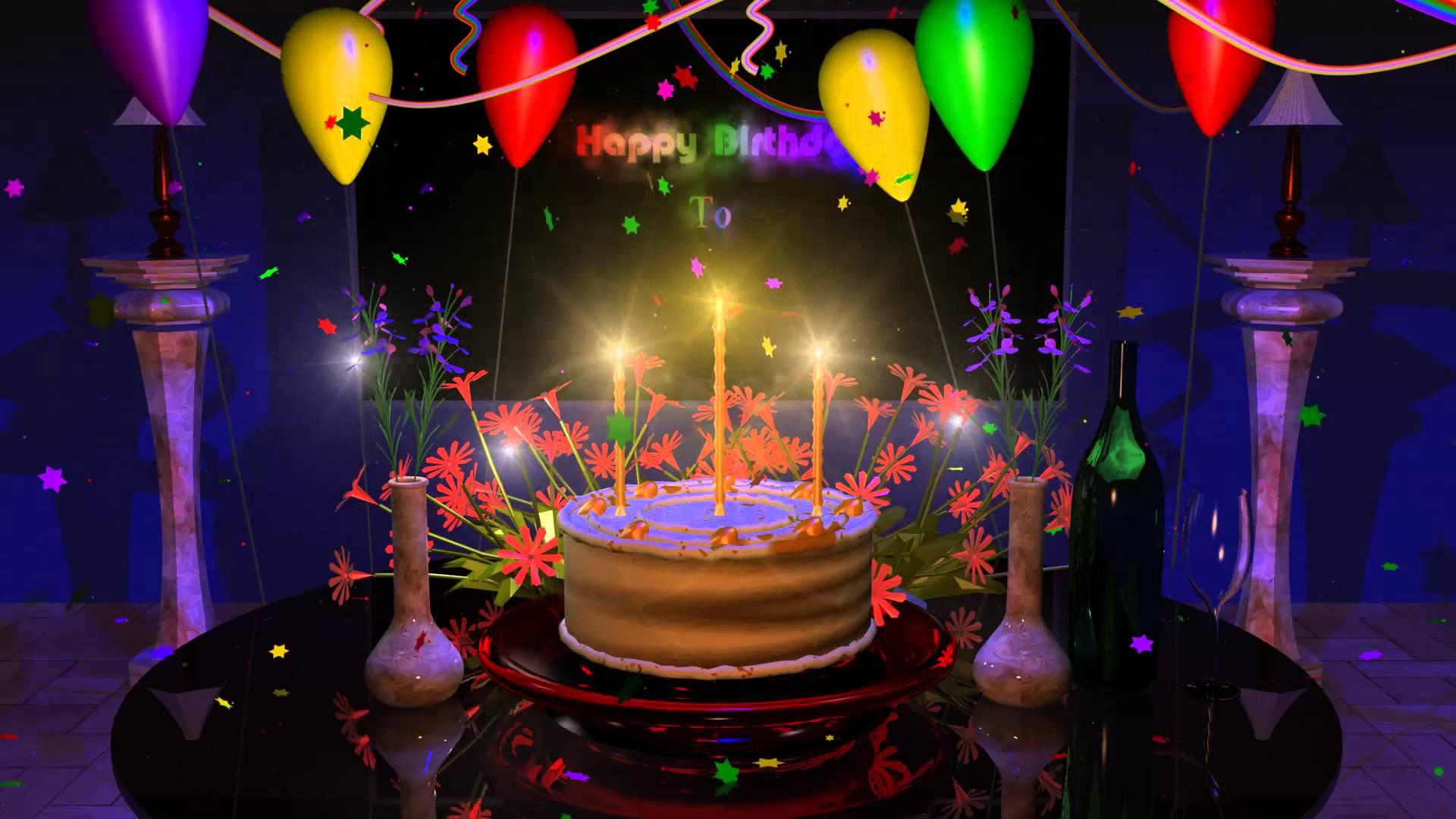 Surprising 7 Live Happy Birthday Cakes Photo Birthday Cake With Many Personalised Birthday Cards Veneteletsinfo