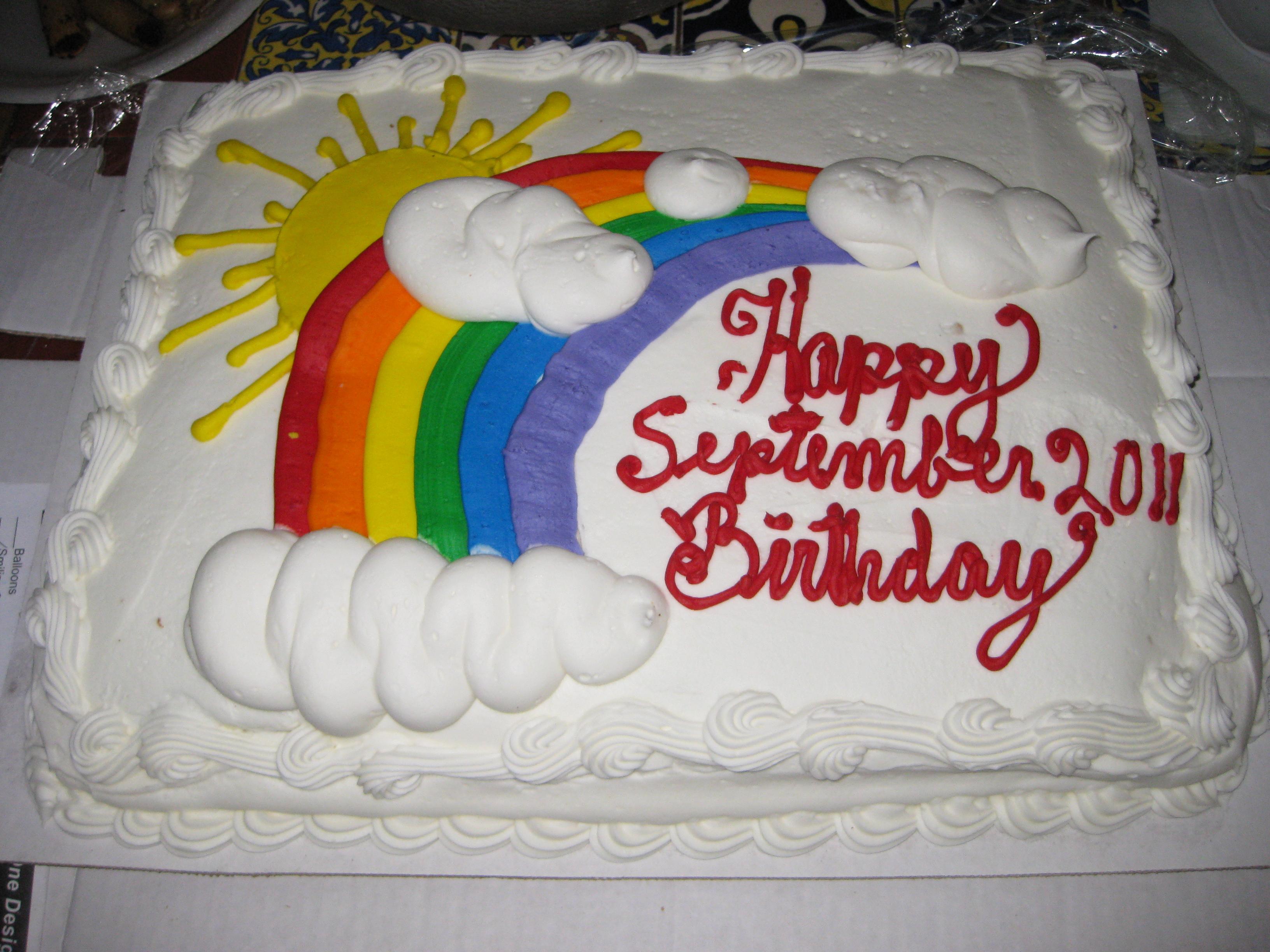 Happy Birthday Cake Costco