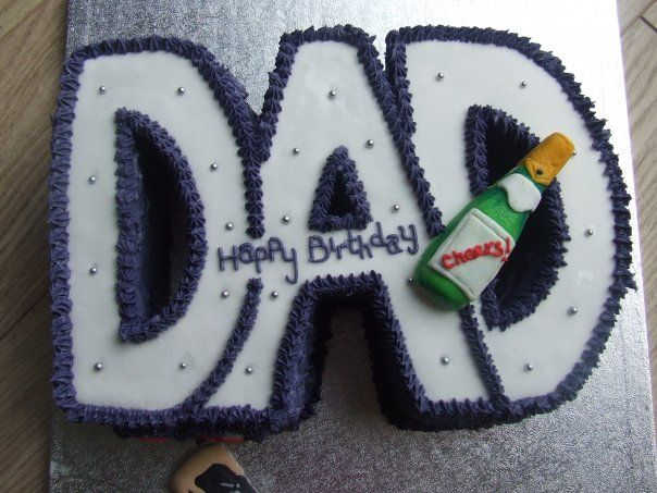 Happy Birthday Dad Cake