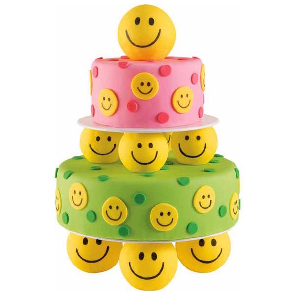Happy Face Birthday Cake
