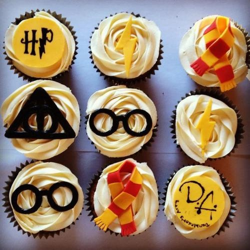 5 Photos of Berry Cupcakes Harry Potter
