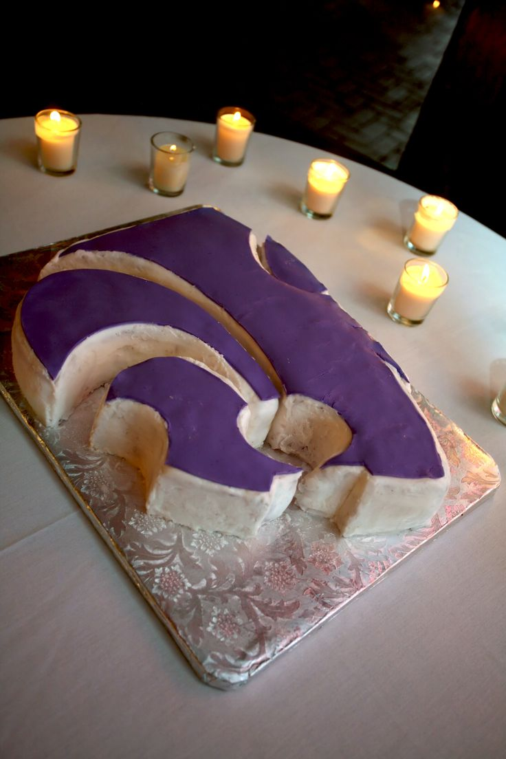 Kansas State Birthday Cake