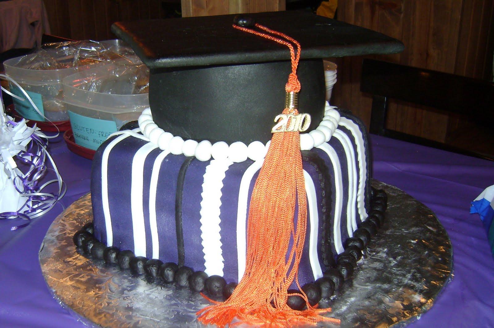 Kansas State Graduation Cake