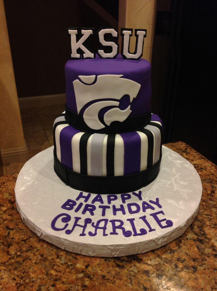 Kansas State University Graduation Cakes