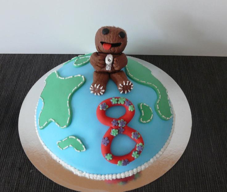 Remarkable 9 Best Little Big Planet Cakes Photo Little Big Planet Birthday Birthday Cards Printable Riciscafe Filternl