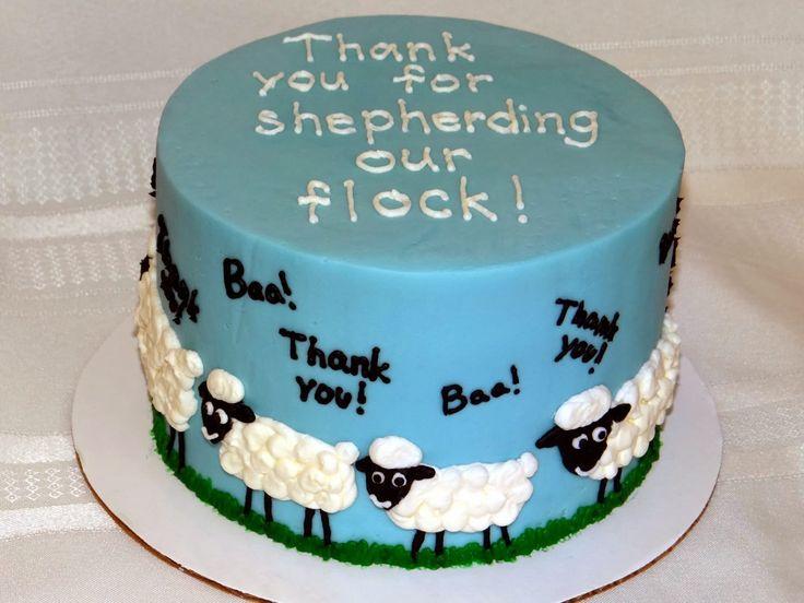 Pastor Appreciation Cakes Decorations