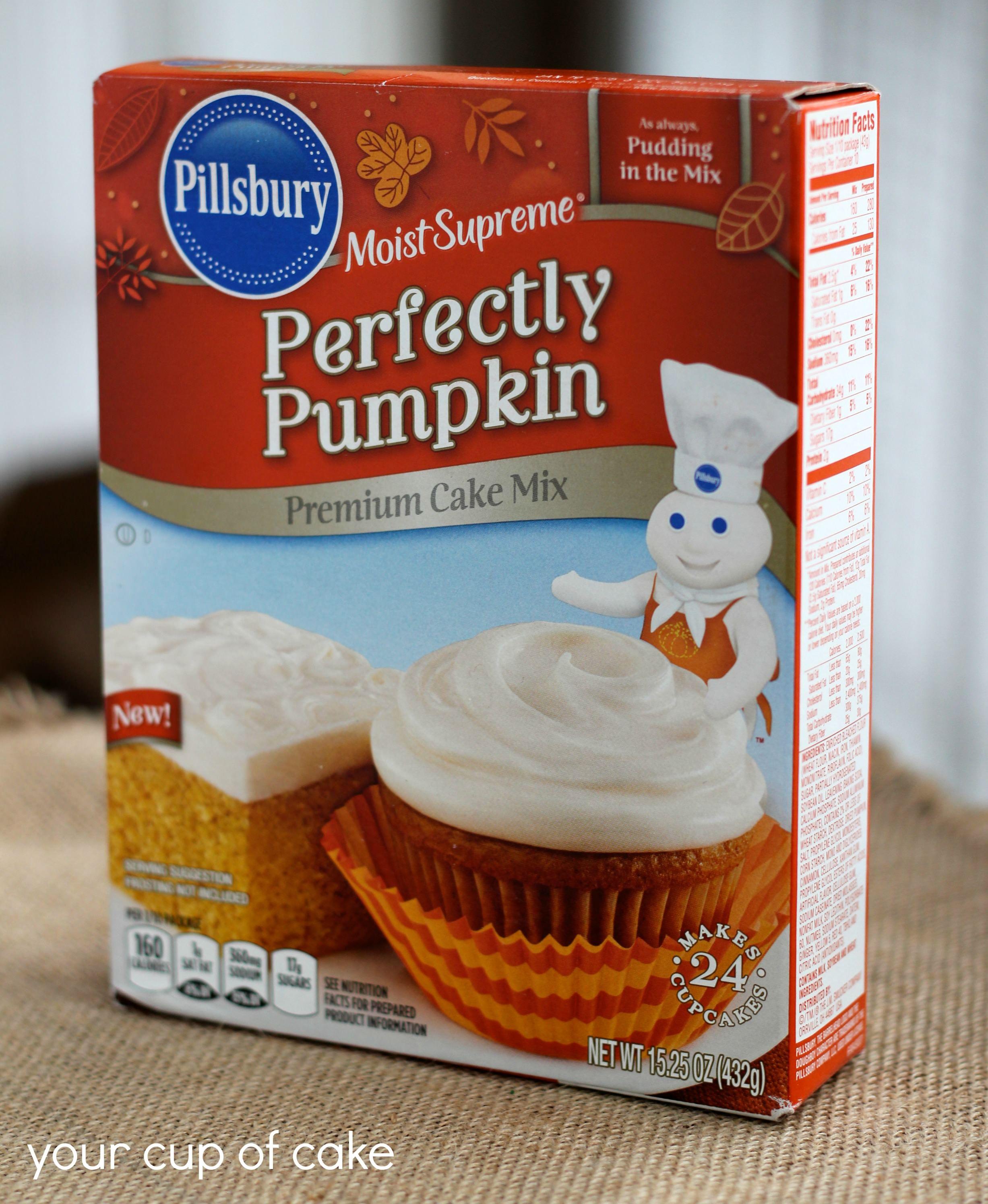 Pumpkin Spice Cake Mix Pillsbury