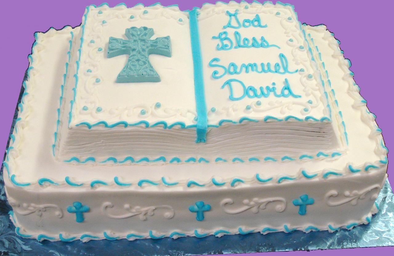 Religious Sheet Cake Designs