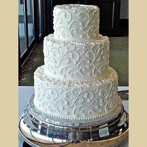 Simple Elegant Wedding Cake Designs