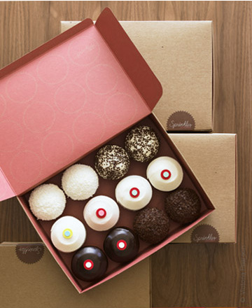 Sprinkles Cupcake Boxes