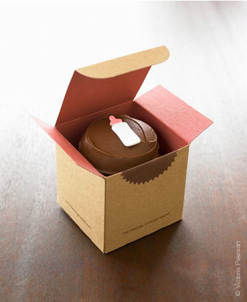 Sprinkles Cupcakes Box Favor