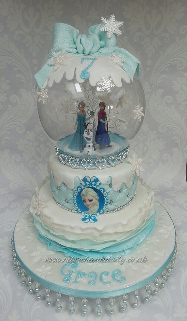 Tiered Birthday Cake Frozen