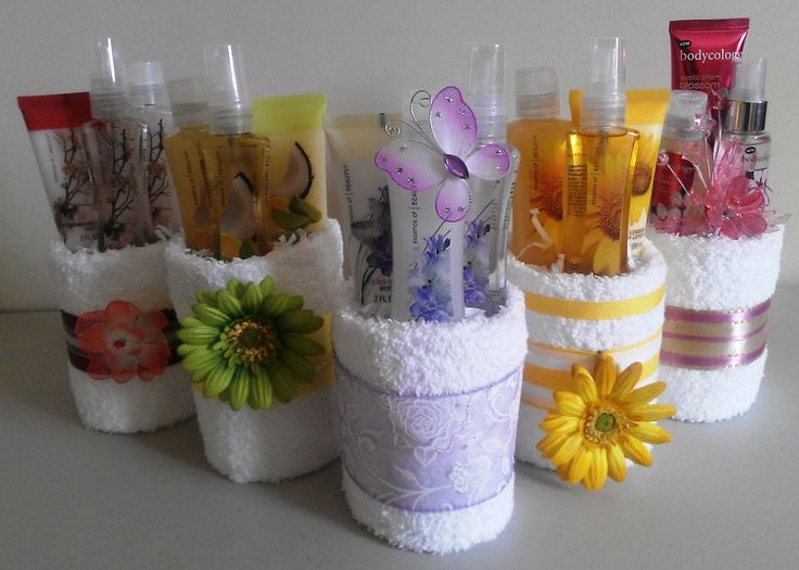 Towel Gift Basket Ideas