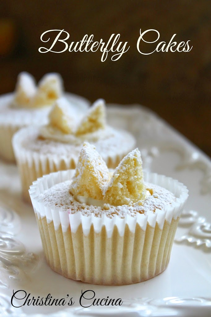 Traditional Butterfly Cakes