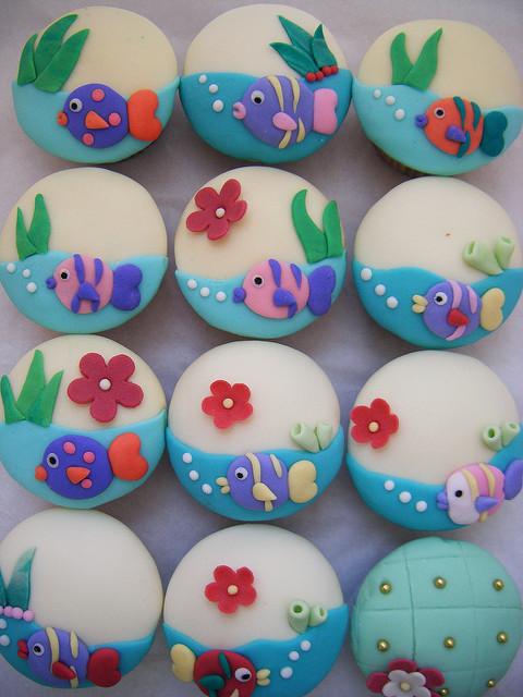 Under the Sea Cupcake Ideas
