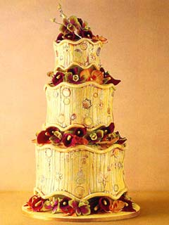 Very Fancy Wedding Cakes
