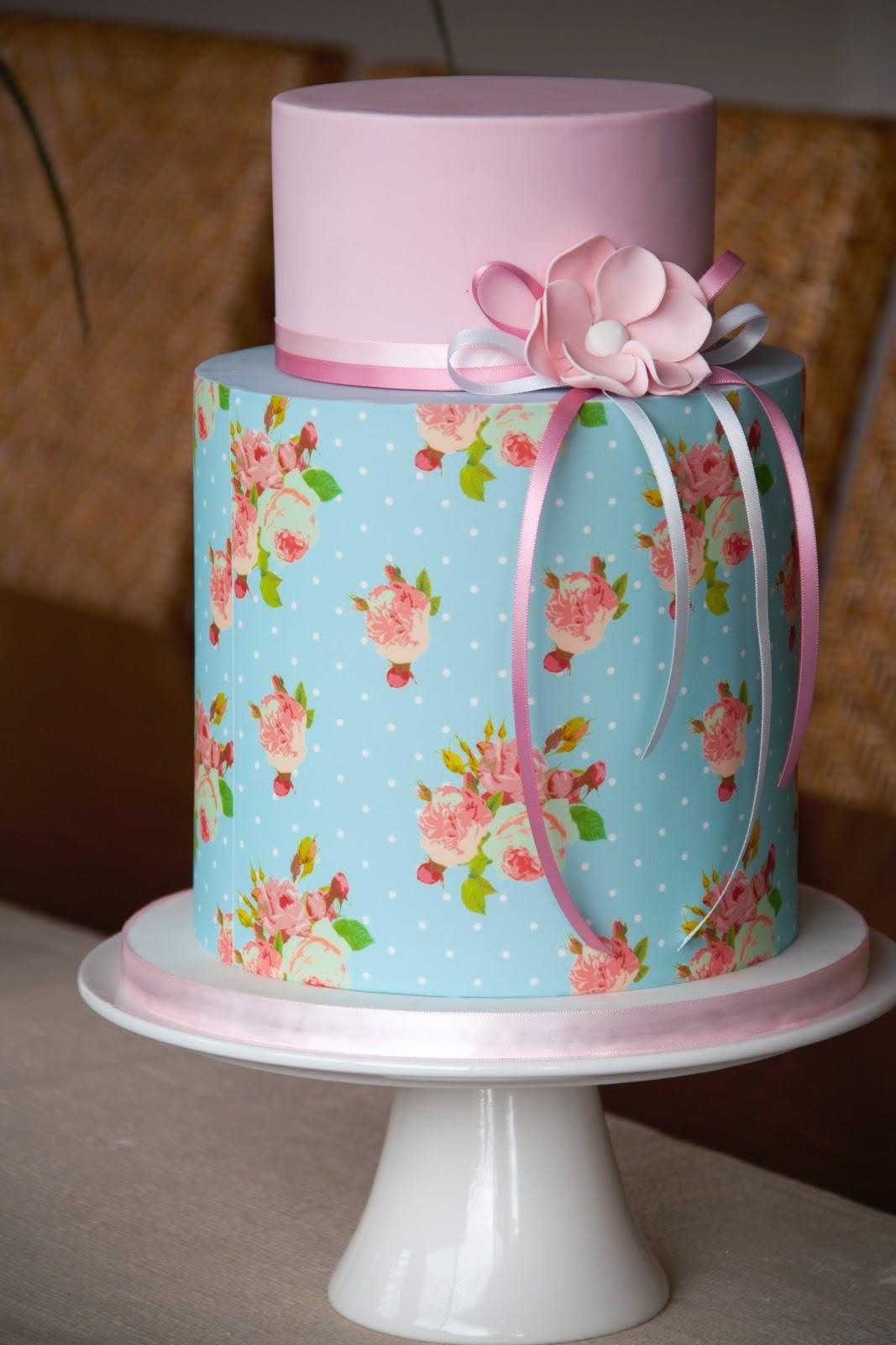 Pleasant 12 Shabby Sheek Cakes Photo Vintage Shabby Chic Cake Shabby Personalised Birthday Cards Cominlily Jamesorg