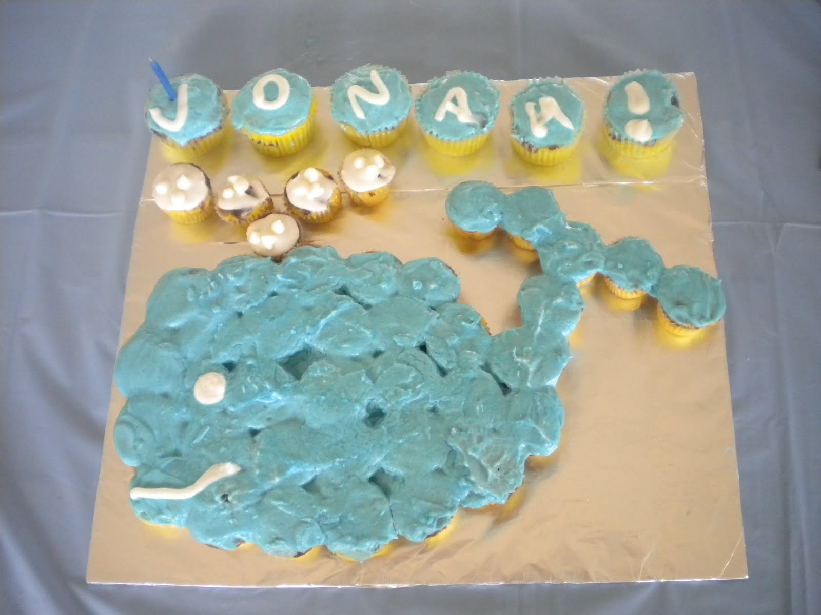 10 Photos of Jonah And The Whale Cupcakes