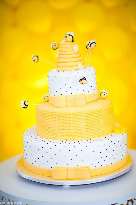 Bee Birthday Party Cake