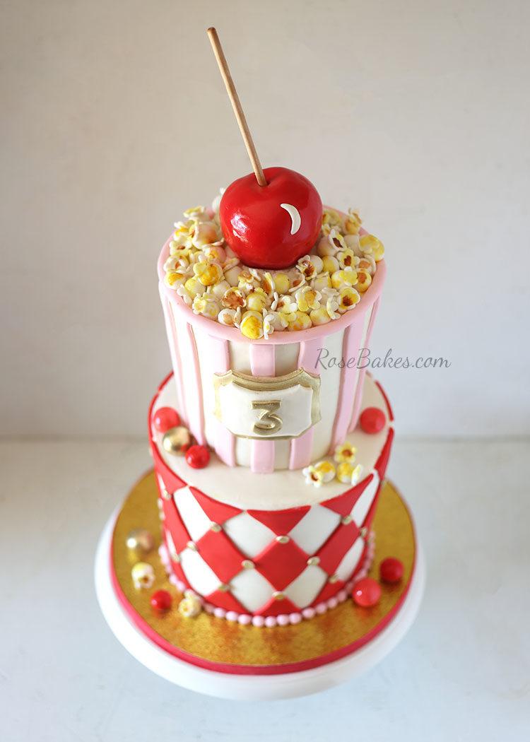 Carnival Popcorn Cake