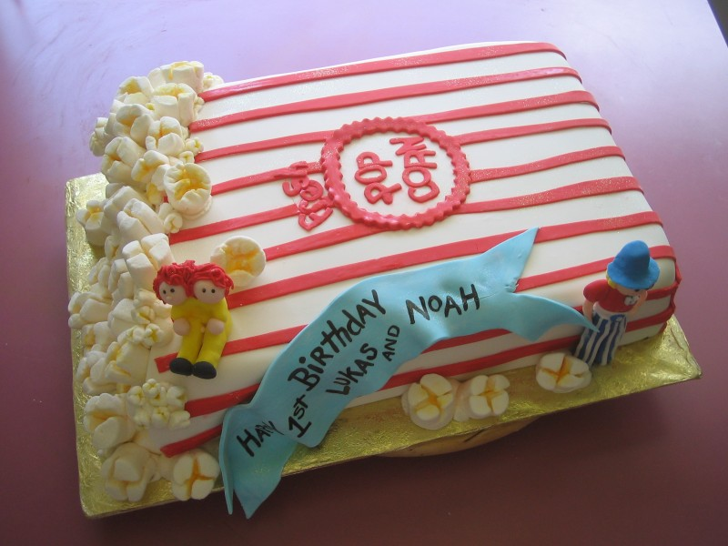 Carnival Theme Birthday Cake