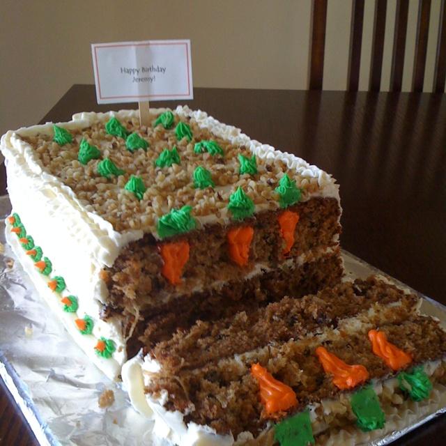 Carrot Cake Birthday Funny