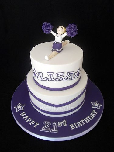 Cheerleader Birthday Cake Ideas
