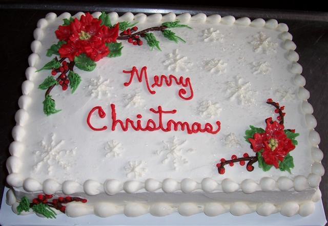 Christmas Sheet Cake Designs