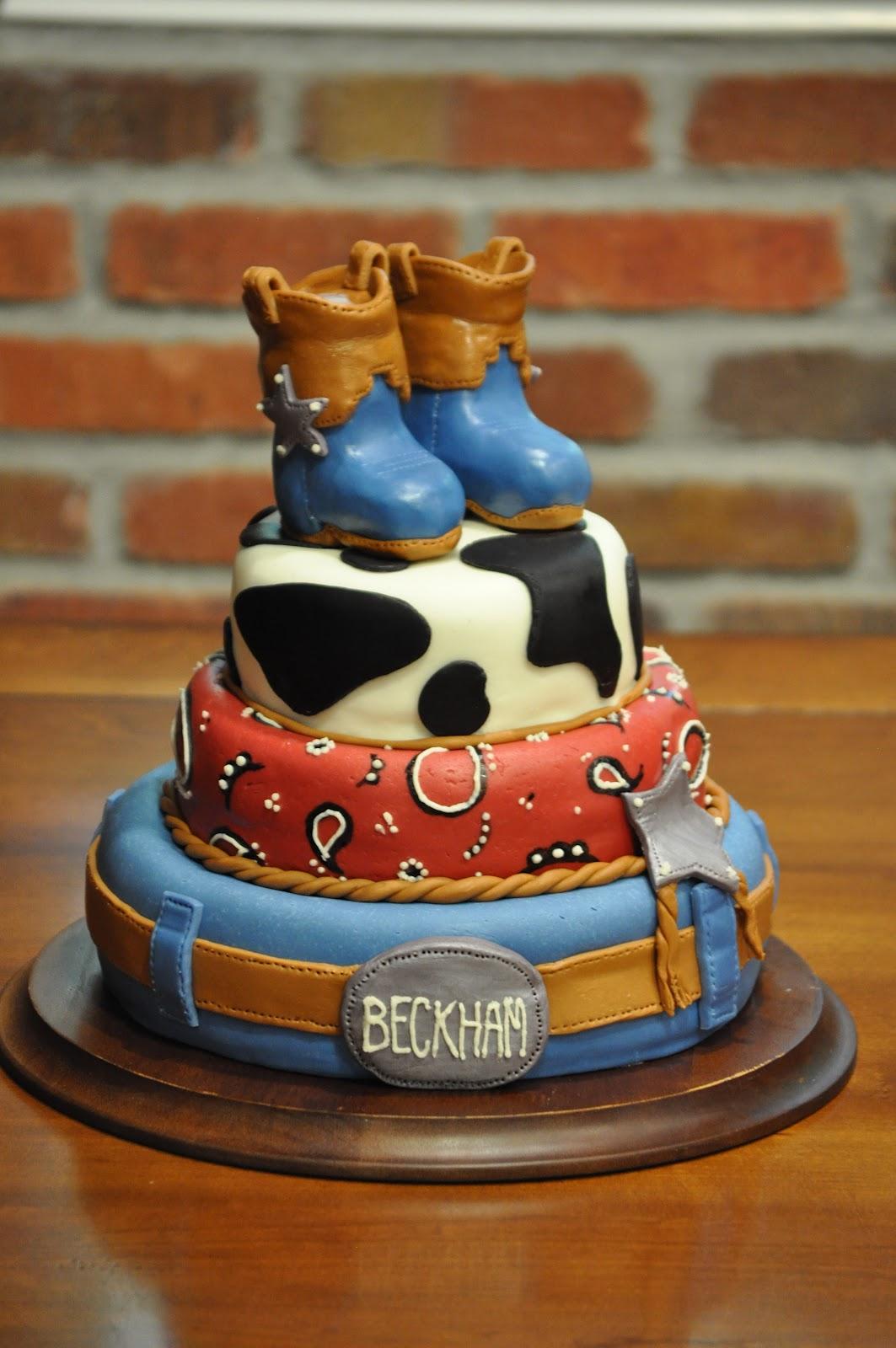 Cowboy Birthday Cake Ideas