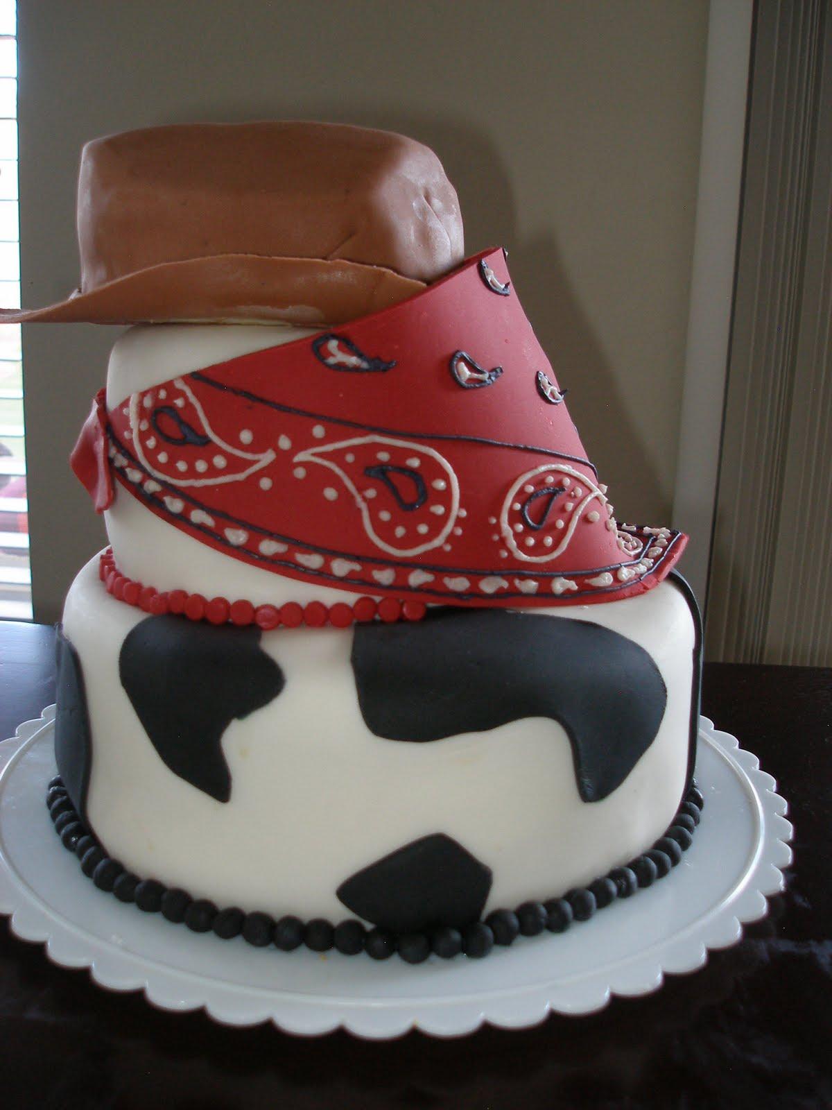 10 Photos of Cow Boy Cakes