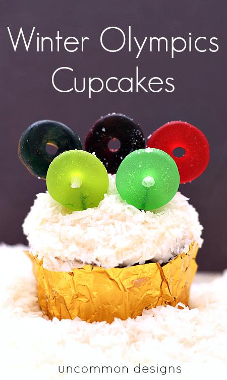 Cupcakes Winter Olympics
