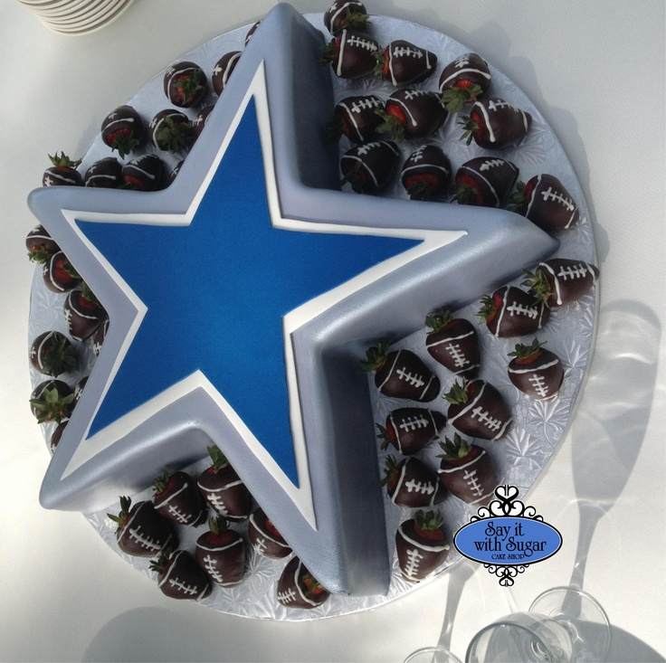 Dallas Cowboy Chocolate Cake