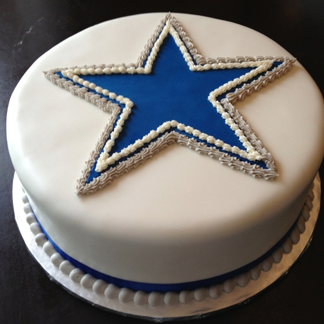 Dallas Cowboys Grooms Cake