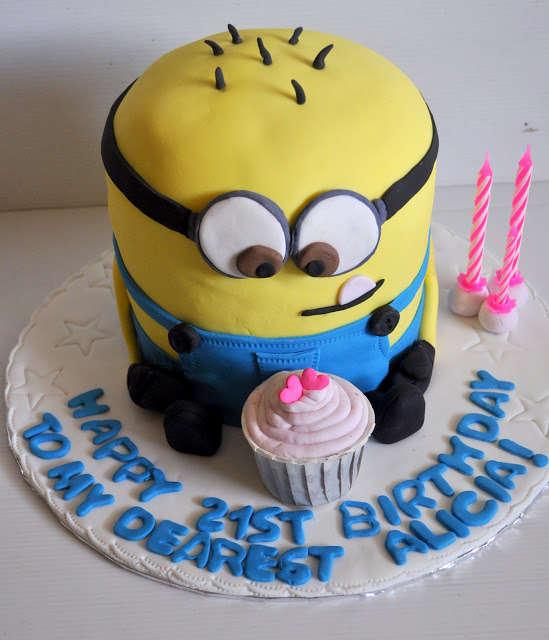 Despicable Me Birthday Cake Idea
