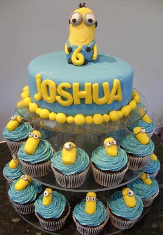 Despicable Me Cake Cupcakes