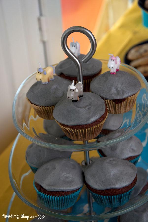 Despicable Me Unicorn Cupcakes