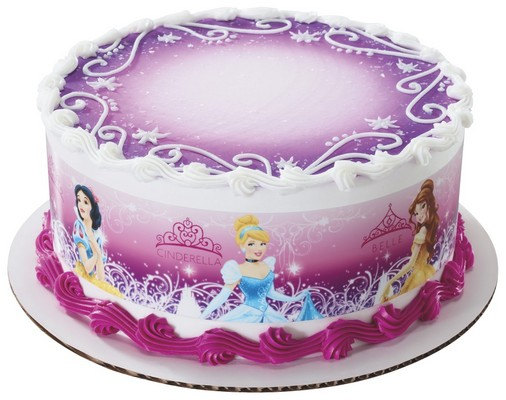 Disney Princess Birthday Sheet Cakes