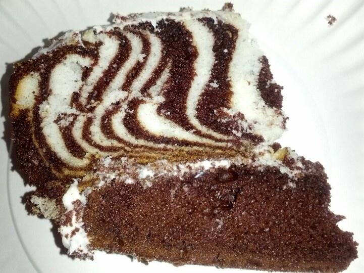 Duff Goldman Zebra Cake Mix