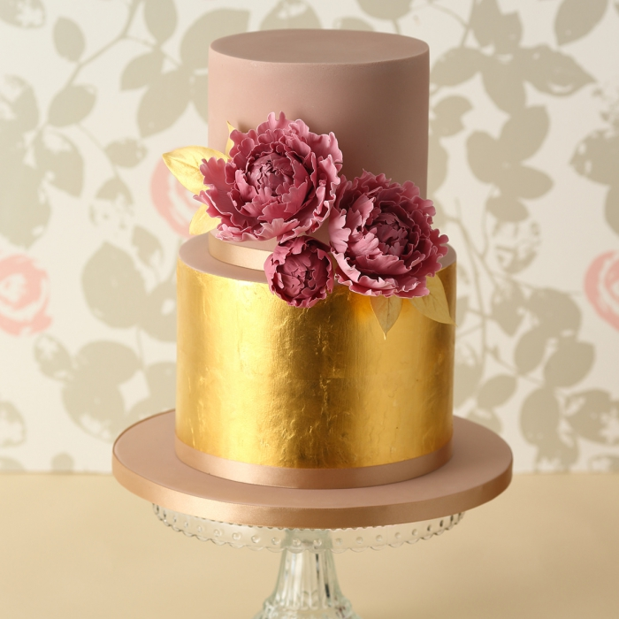 Edible Gold Leaf Sheets for Cakes