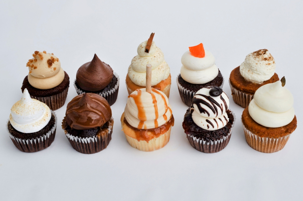 Fall Cupcake Flavors