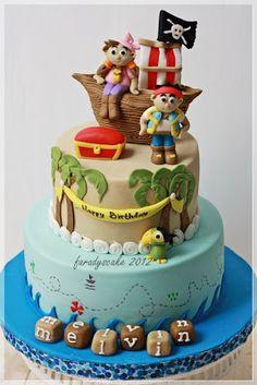 Jack and Neverland Pirates Cake