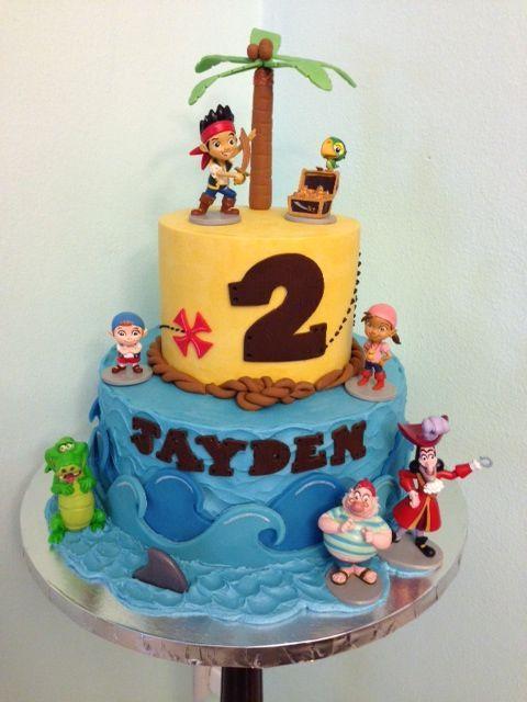 Jake and Neverland Pirates Birthday Cake