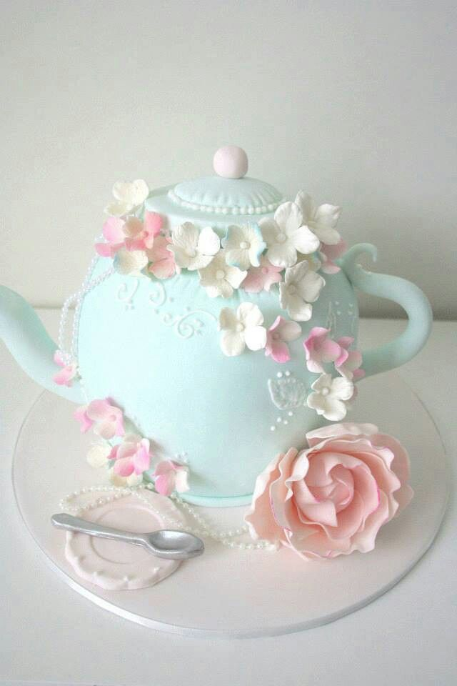 Excellent 11 Tea Kettle Cakes Ideas Photo Diy Teapot Cake Tea Party Cake Personalised Birthday Cards Cominlily Jamesorg