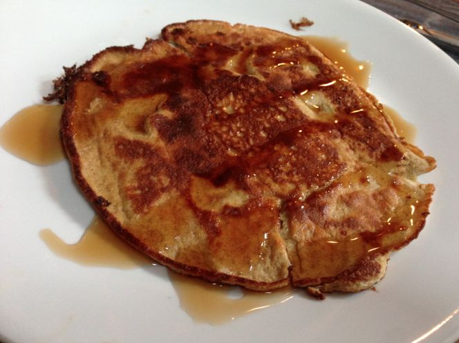 Low Carb Pancakes with Cream Cheese