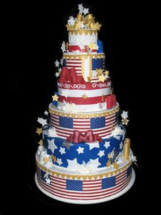 9 Photos of USA Navy Themed Cakes