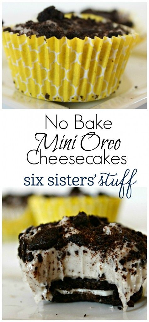 Mini Oreo Cheesecake Cupcakes Recipe