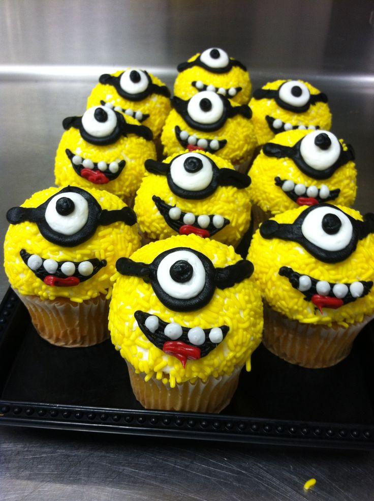 Minions Despicable Me Cupcake Ideas