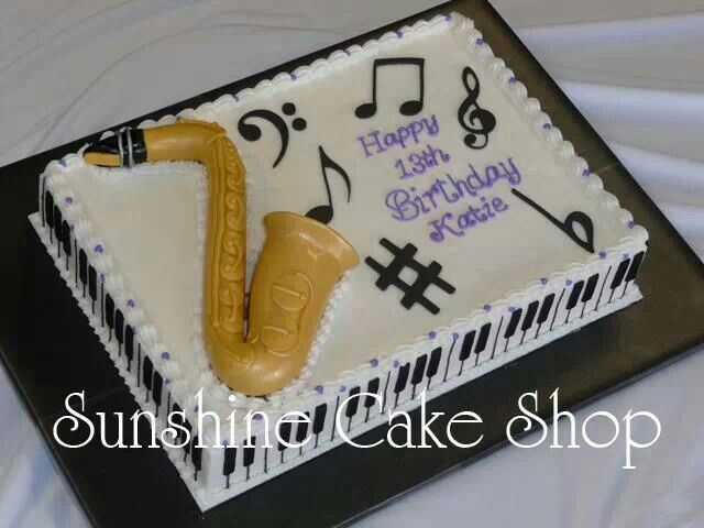 11 Photos of Music Themed Cakes Awesome
